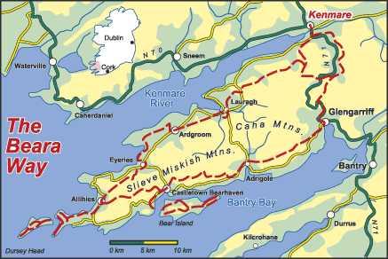The Beara Way Walk West Cork Walking At The Beara Way