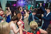 wedding party in full swing with Groove Collective