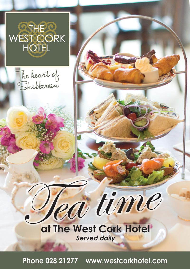 West Cork Hotel Teatime Offer
